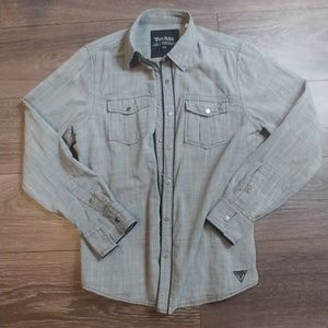 Men's Guess Casual Button Down Shirt